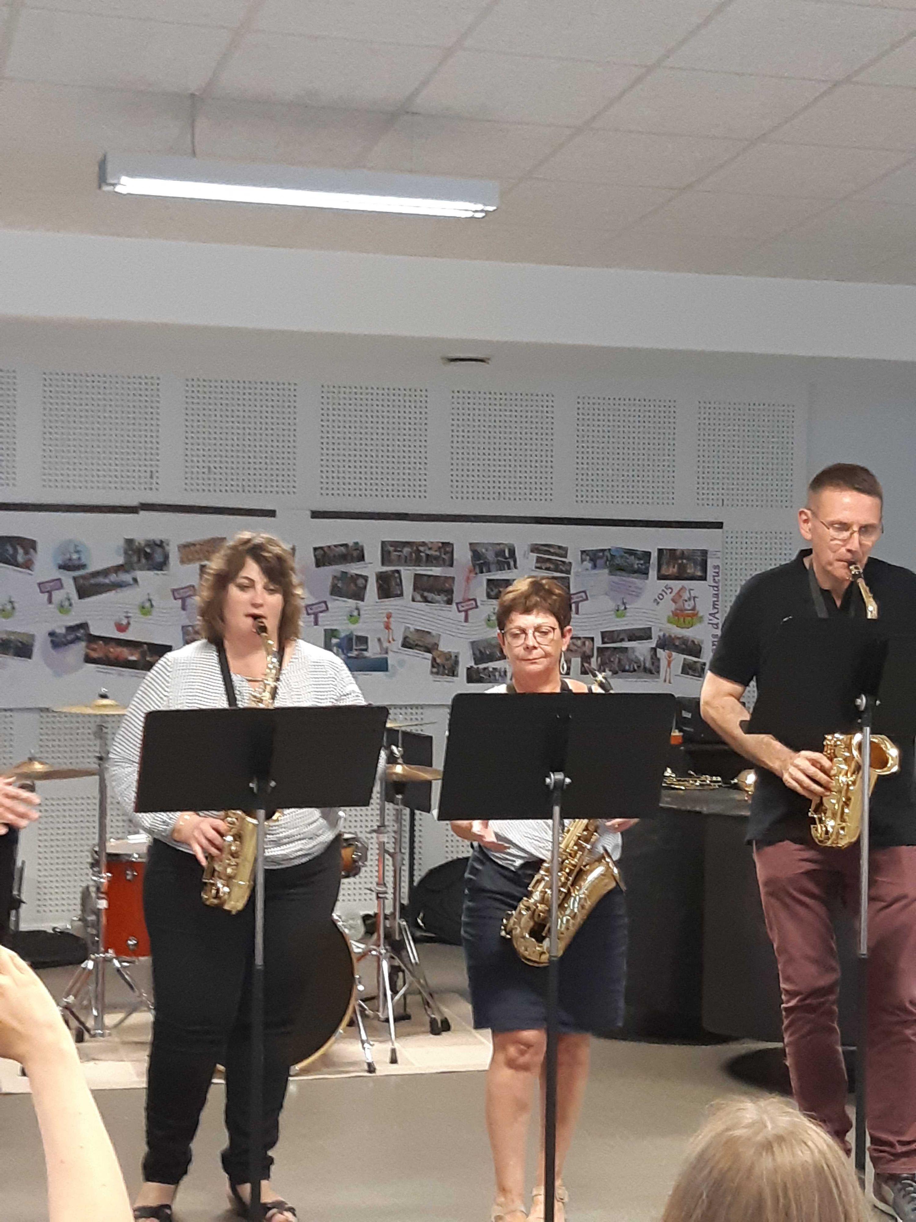 Audition des saxophones 2019
